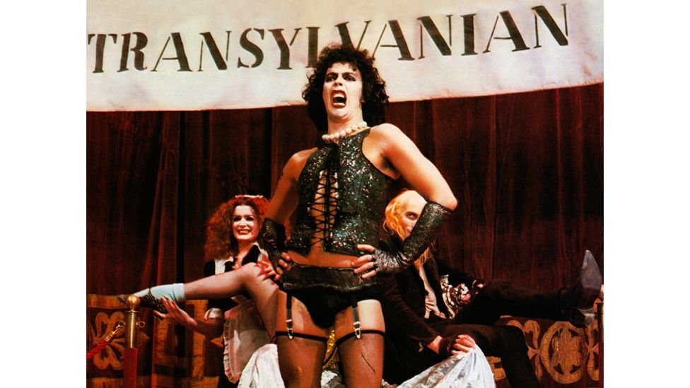 Based on a 1973 stage musical, Rocky Horror was initially panned; but has since been added to the US National Film Registry by the Library of Congress (Credit: Alamy)