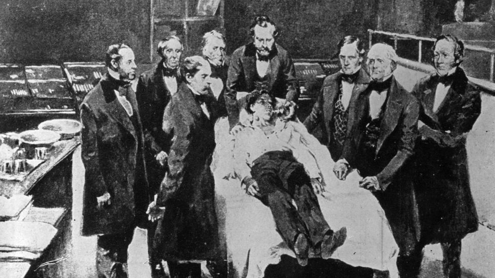 As surgeons came up with more ambitious procedures, there was a pressing need for a reliable method of sending patients to sleep (Credit: Getty Images)