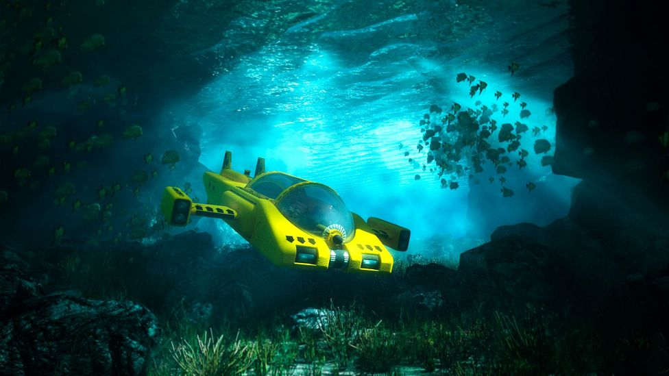 Submersible rides may potentially be the future of underwater exploration (Credit: Matjaz Slanic/Getty Images)