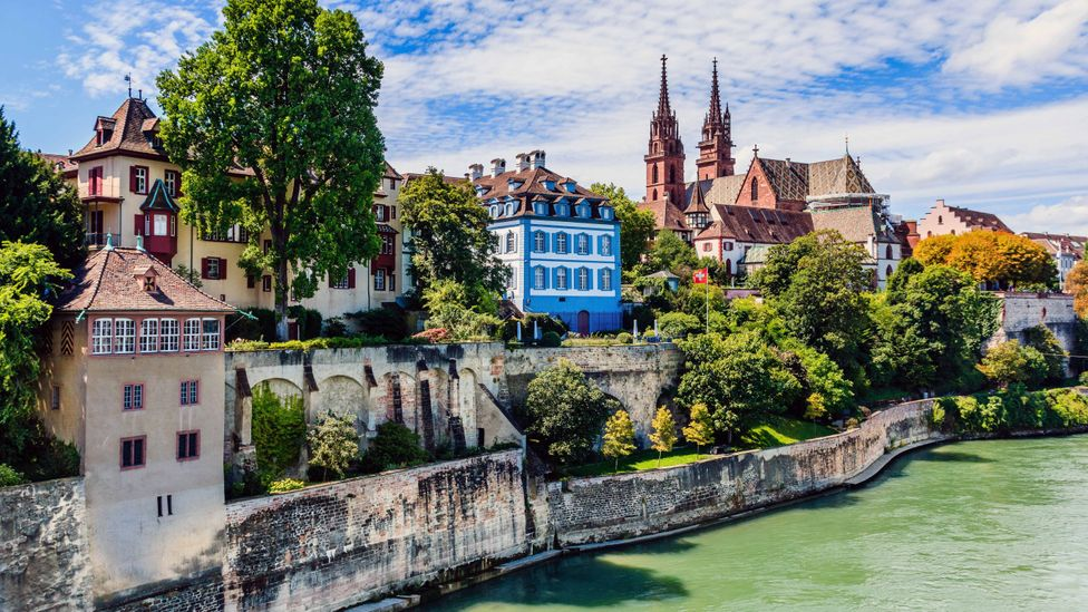 Basel was founded about 2,000 years ago on the banks of the Rhine (Credit: Carmen Gabriela/Getty Images)