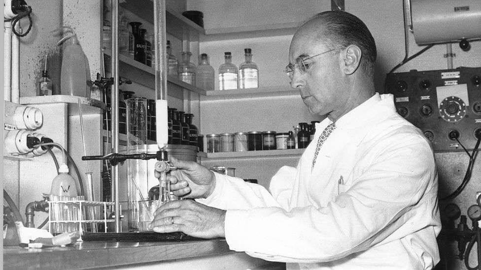 Albert Hofmann synthesised LSD in 1938, while was working as a research chemist at pharmaceutical firm Sandoz (Credit: Novartis)