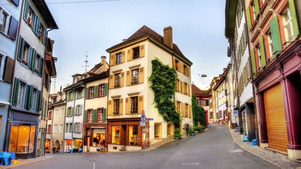 Basel's Old Town is one of the best-preserved and most beautiful in Europe (Credit: Leonid Andronov/Getty Images)