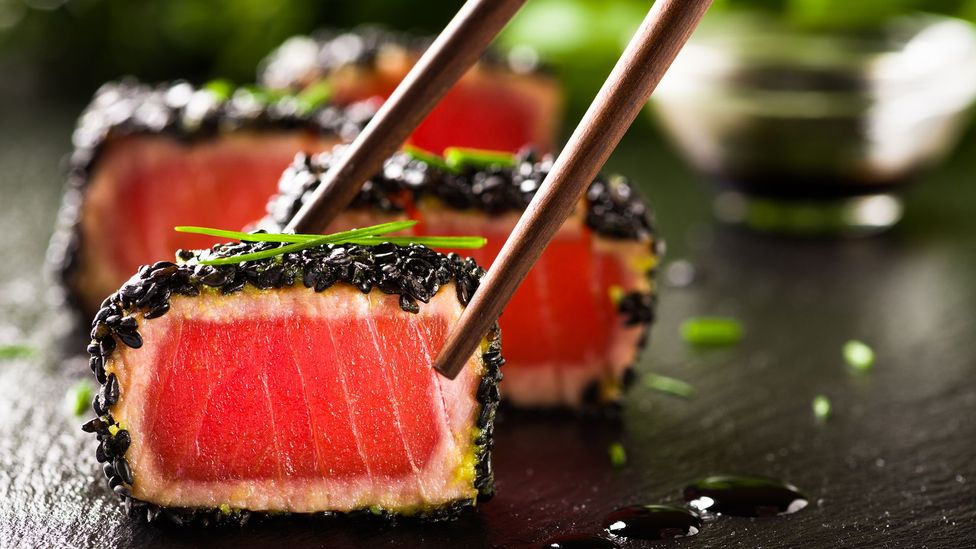 Sushi on plate (Credit: Getty Images)