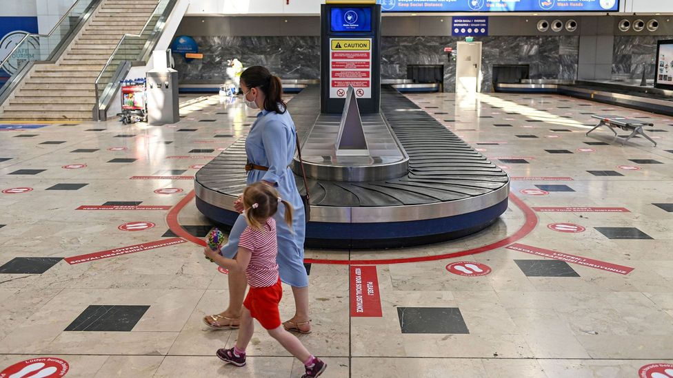 Deserted airports might be the norm for some time to come (Credit: Getty Images)