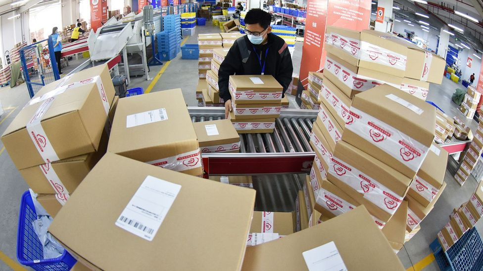 Online shopping has ramped up since the pandemic hit – and surveys show many people intend to carry on these habits rather than go back to shops (Credit: Getty Images)
