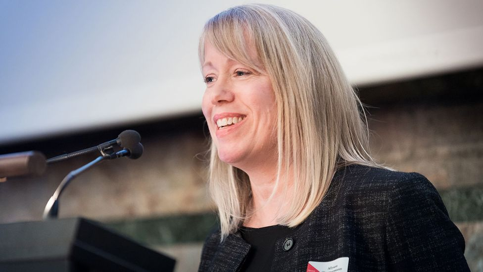 Allyson Zimmermann, a Zurich-based executive director for an equality non-profit, says women are struggling more than men during the pandemic (Credit: Catalyst)