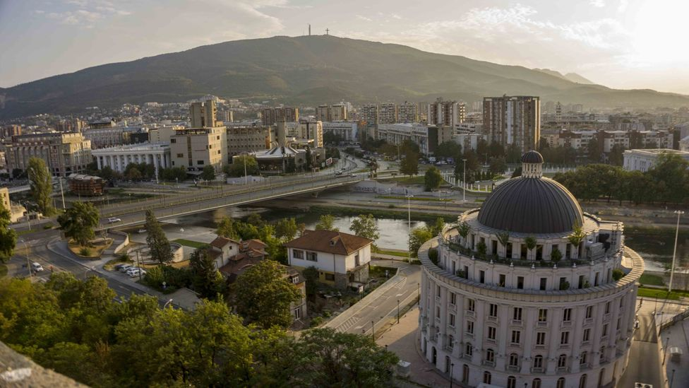 The young people leading environmental movements in North Macedonia are hopeful that the Skopje's air pollution can be remedied (Credit: Getty Images)