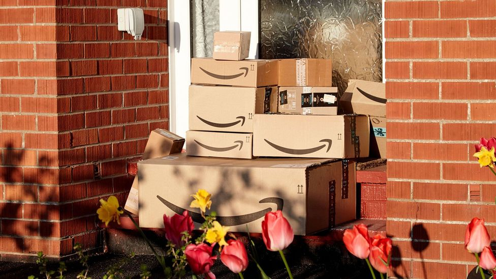 Companies like Amazon are already megacorporations, but could Covid-19 make them even richer and more powerful? (Credit: Alamy)