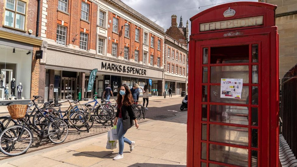 Those who are returning to High Streets are shopping more deliberately – which means less looking around and more going straight to the cash register (Credit: Alamy)