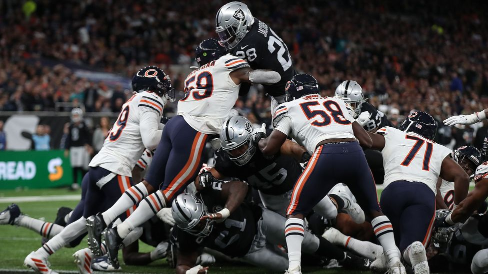 There has been a growing discussion about how to protect NFL players from concussion and long term damage to their brains (Credit: Getty Images)