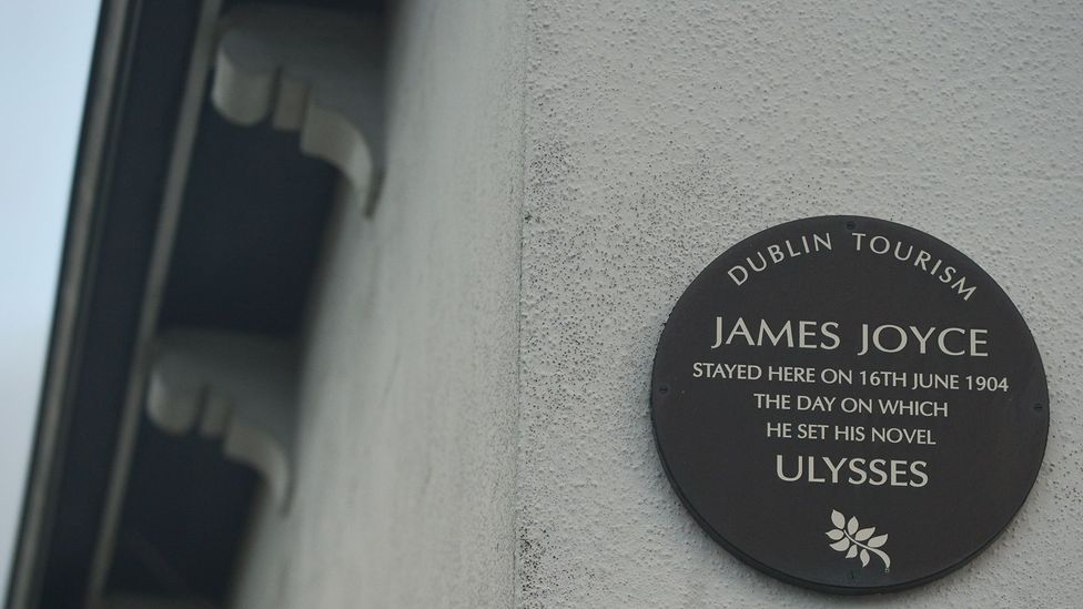 Often viewed as impenetrable, Joyce's Ulysses is nevertheless so admired that it's part of Dublin's tourist trail (Credit: Getty Images)