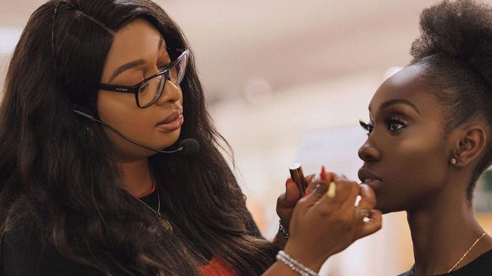 Adenuga says she cannot do her job without being close to her clients (Credit: MCM London)