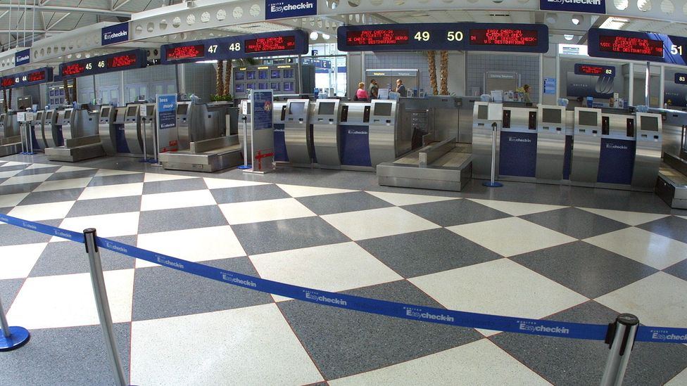 Airports were closed down completely for a few days after the 9/11 attacks – and the effects of the temporary shutdown were felt for years (Credit: Getty Images)