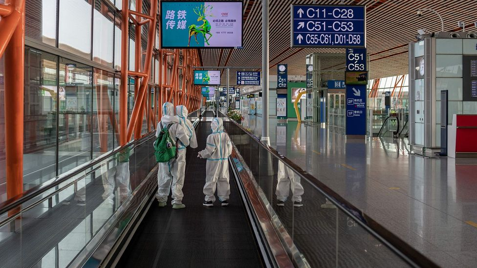 The pandemic has meant passenger numbers across the world have diwnled to almost nothing (Credit: Getty Images)