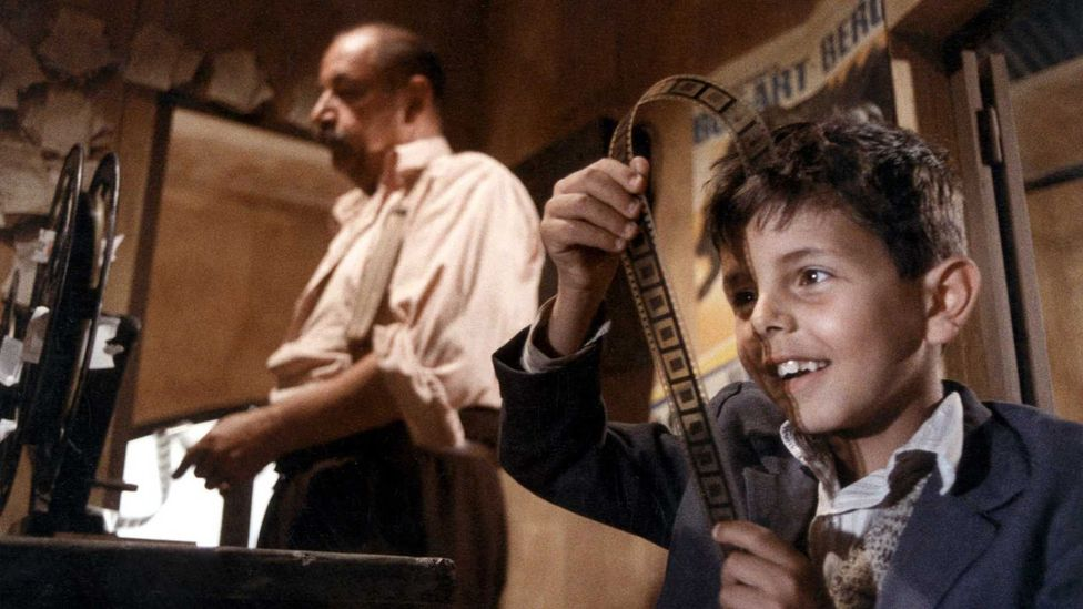 Morricone composed the score for Cinema Paradiso with his son Andrea; the pair won a Bafta for best original film music (Credit: Les Films Ariane)