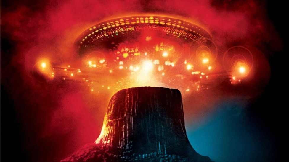 Director Steven Spielberg was inspired to make Close Encounters of the Third Kind after watching a meteor shower with his father as a child (Credit: EMI Films)