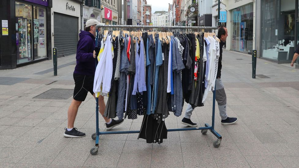 The rise of fast fashion is largely behind the growing amounts of clothing we buy and throw away each year (Credit: PA)