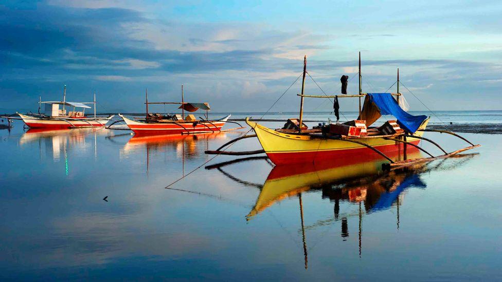 Bangka tradicionale është një pjesë ikonike e jetës në Filipine, duke evoluar nga roli i saj i hershëm si një anije lufte (Kredi: Getty Images)