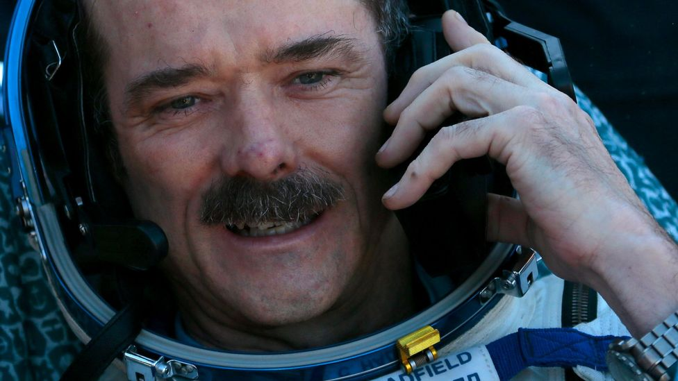 """Chris Hadfield has said more than once that """"only boring people get bored"""" (Credit: Getty Images)"""