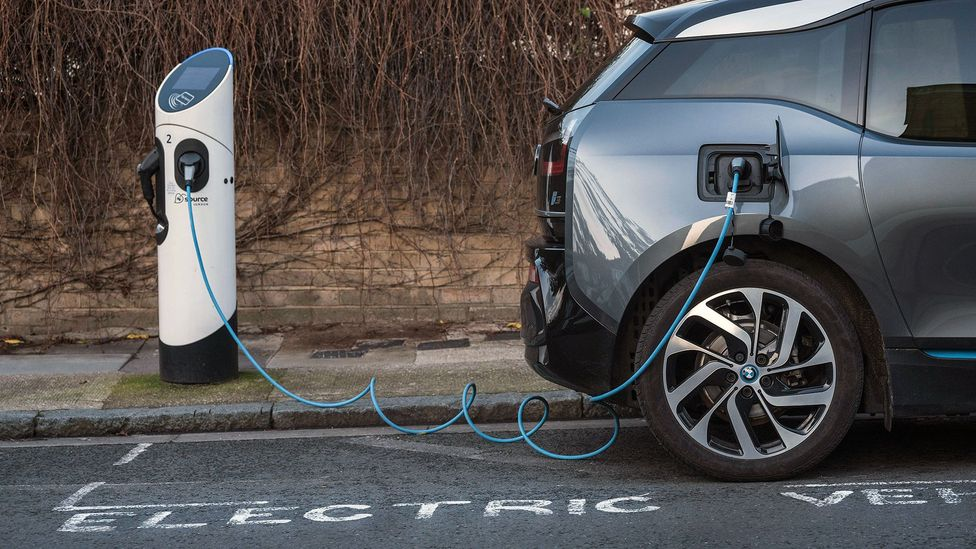 The demand for longer-lasting batteries capable of holding more charge is likely to rise as more electric vehicles appear on our roads (Credit: Alamy)