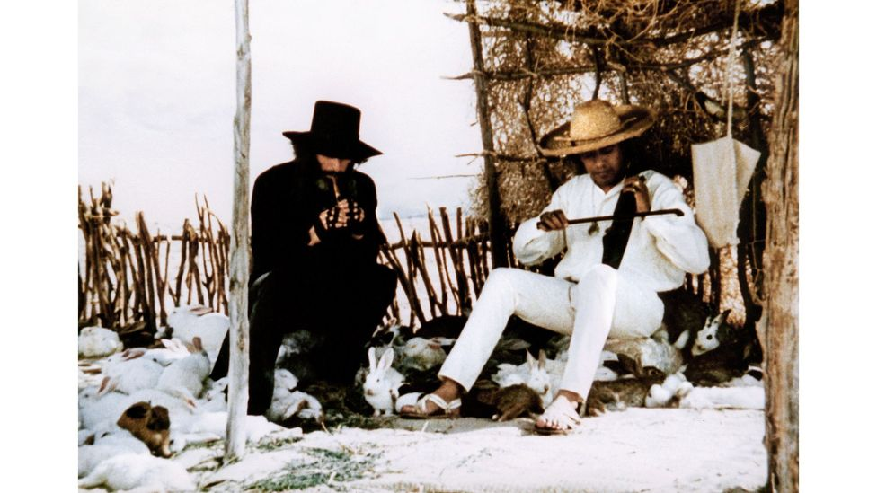 In El Topo, a wandering Mexican bandit goes on a search for spiritual enlightenment (Credit: Alamy)