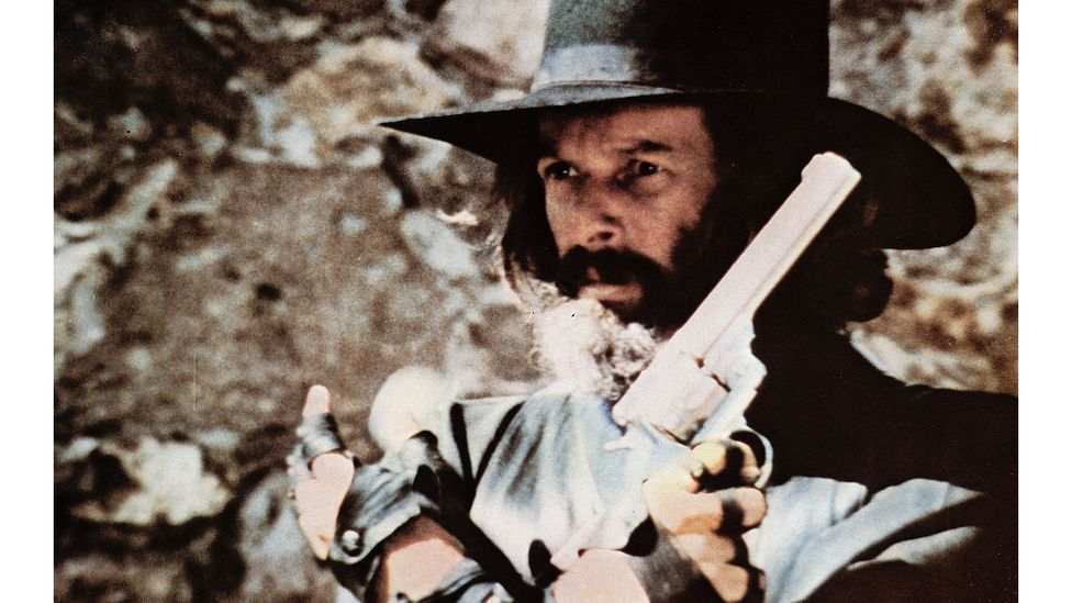 After his debut feature was banned in Mexico, Jodorowsky vowed to make a 'cowboy picture' (Credit: Alamy)