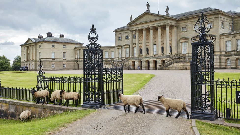 Kedleston Hall, Derbyshire, was the ancestral home of George Nathaniel Curzon, Viceroy of India from 1899 to 1905 (Credit: National Trust Images/Arnhel de Serra)