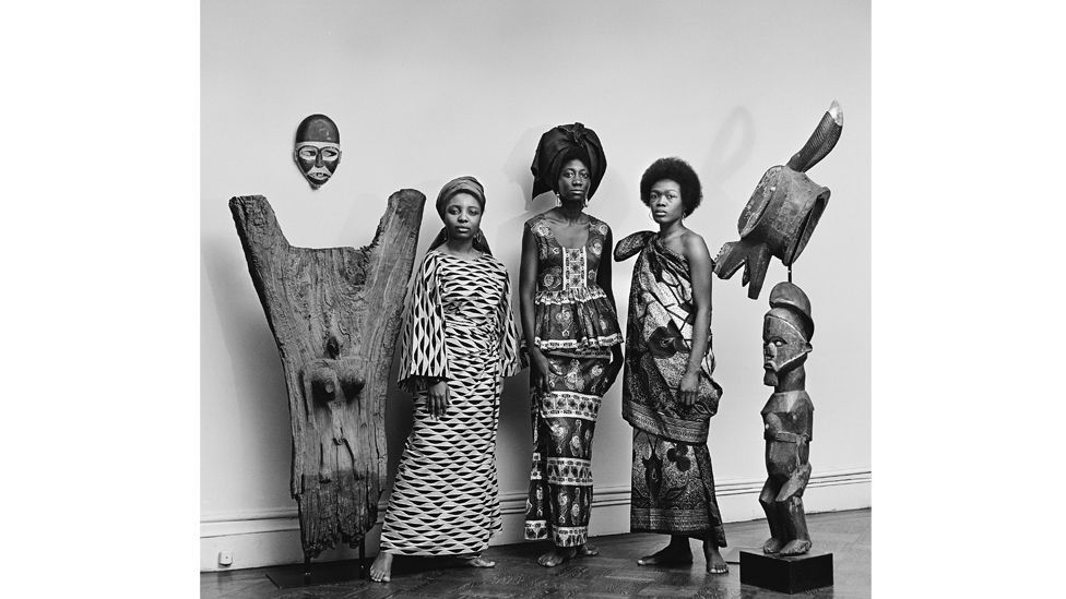 The Grandassa Models, New York, 1967, photographed by Kwame Brathwaite (Credit: Courtesy of the artist and Philip Martin Gallery, LA)