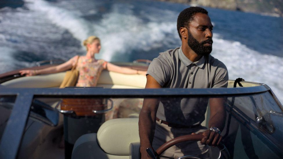 John David Washington stars alongside Elizabeth Debicki and Robert Pattinson in Tenet, this year's most anticipated - and postponed - release  (Credit: Alamy)