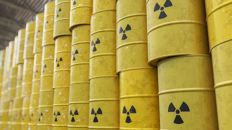 We may think of the trefoil nuclear warning sign as universal - but less than 6% of the world's population may recognise it (Credit: Getty Images)