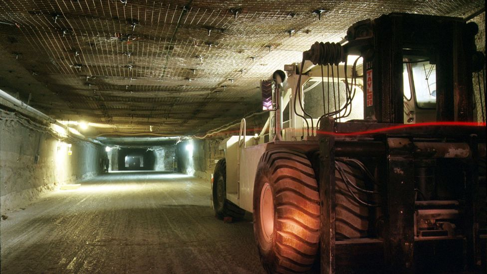 The dumping of nuclear waste requires vast sites buried far underground (Credit: Getty Images)