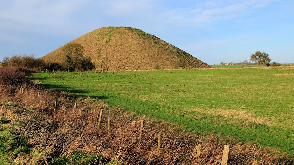 Silbury Hill is thought to have been built around 4,000 years ago - but the reasons for its building have been lost (Credit: Getty Images)