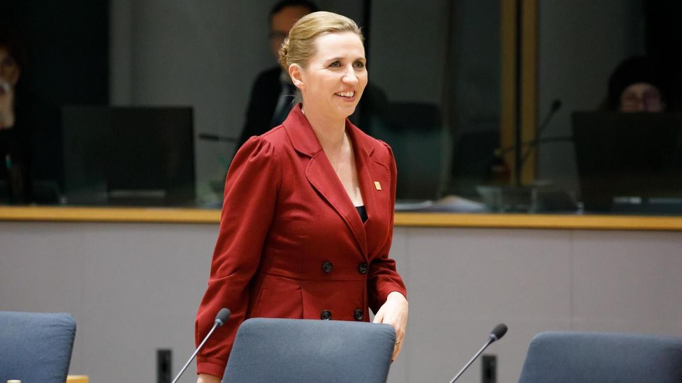The word samfundssind was revived by Prime Minister Mette Frederiksen in March as she set out Denmark's response to Covid-19 (Credit: Alamy)