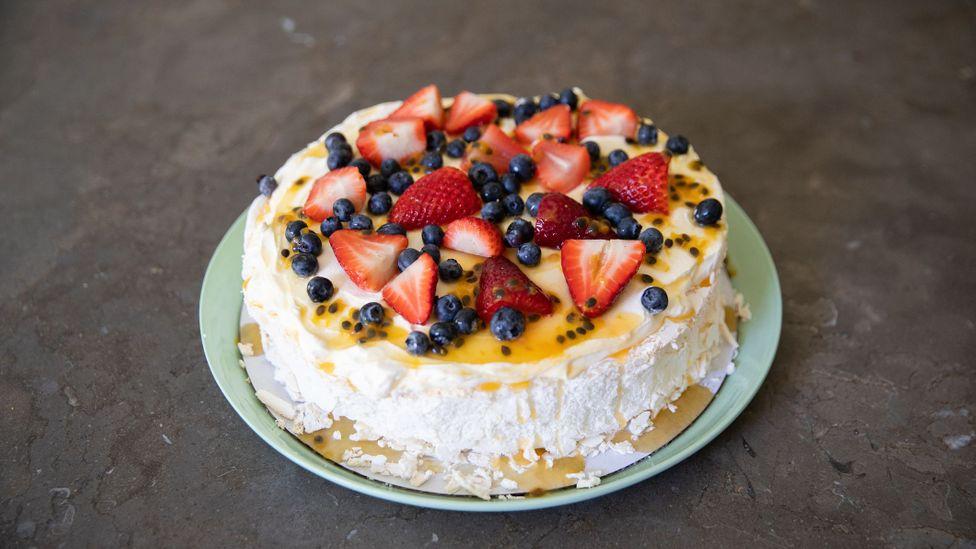 Pavlova is a meringue-based dessert named after the Russian ballerina Anna Pavlova (Credit: Attila Csaszar/Getty Images)