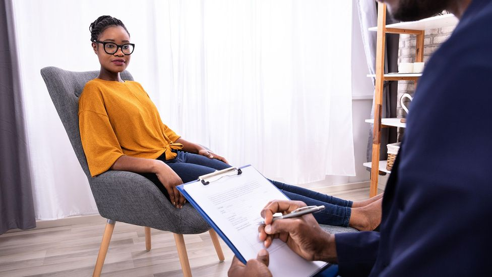 For a myriad of reasons, black people are often less inclined to seek help with their mental health (Credit: Alamy)