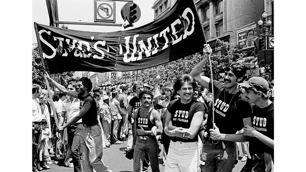 San Francisco was one of the gay meccas the Village People celebrated on their visionary debut album (Credit: Alamy)