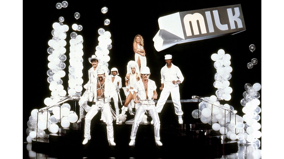 As their career went on, the Village People increasingly courted the mainstream, including with 1980 film Can't Stop the Music (Credit: Alamy)