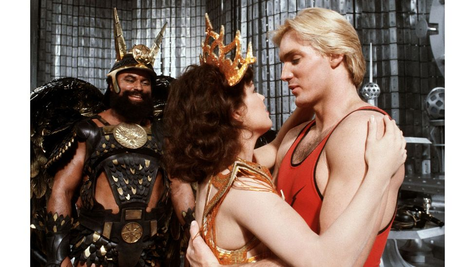 Flash Gordon has gained a cult following, inspiring figures including Taika Waititi, who said it influenced him when making Thor: Ragnarok (Credit: StudioCanal/Flash Gordon)