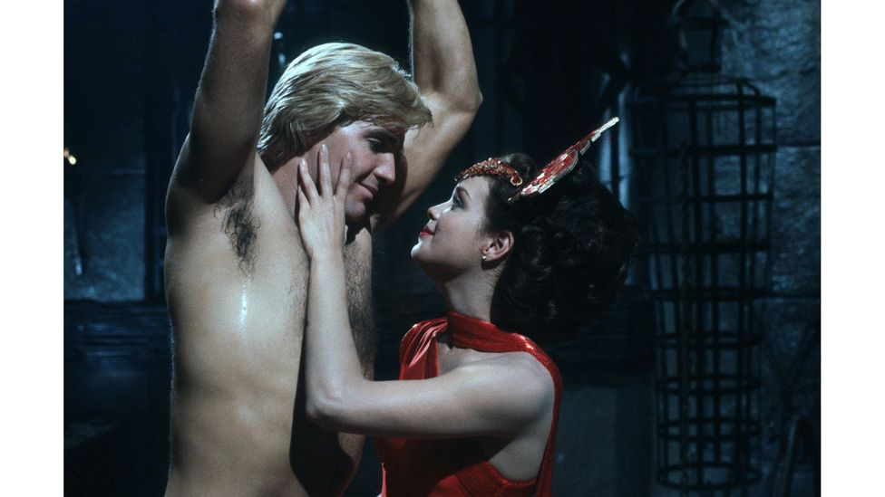 The film added an eroticism that wasn't in other space operas, like Star Wars (Credit: StudioCanal/Flash Gordon)