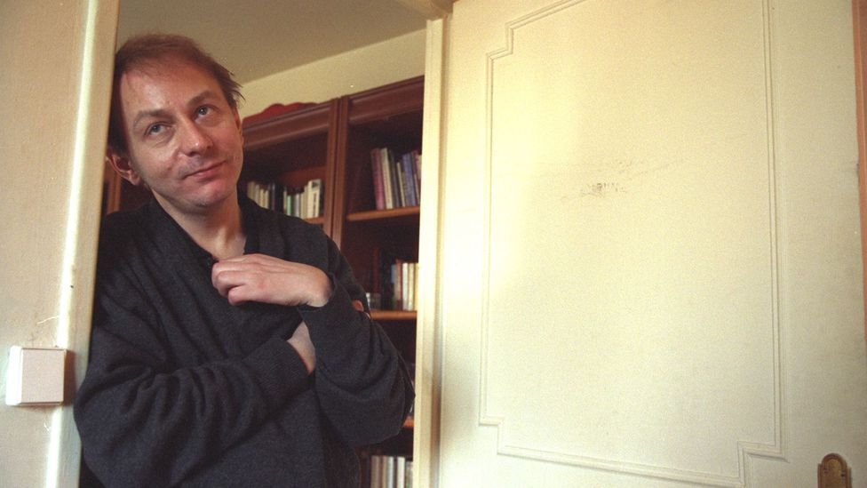 Controversial French author Michel Houellebecq fictionalised his mother as a selfish, sex-crazed hippy (Credit: Getty Images)