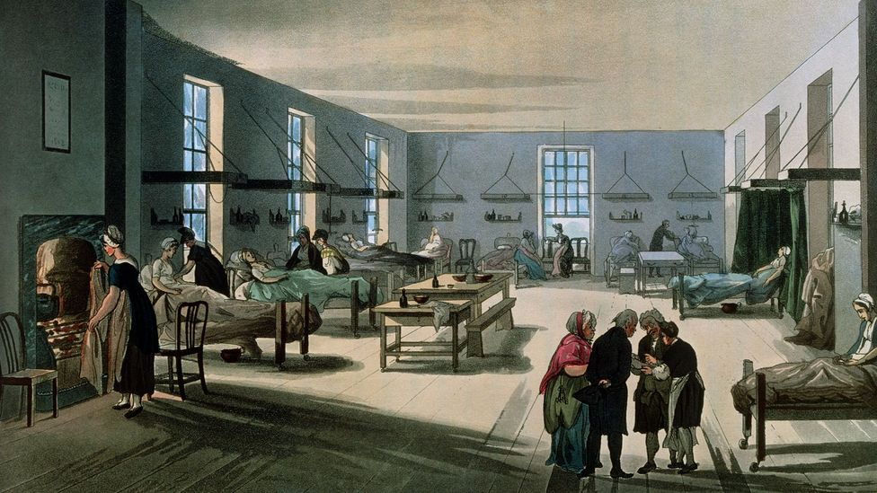 Hospitals in the 19th Century were so unsanitary that many patients died not from surgery but from the poor levels of hygiene (Credit: Science Photo Library)
