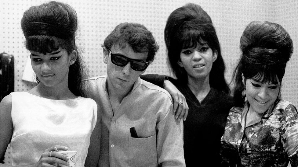 The Ronettes had been struggling to break through when a phone call to producer Phil Spector landed them an audition – and the rest is history (Credit: Getty Images)