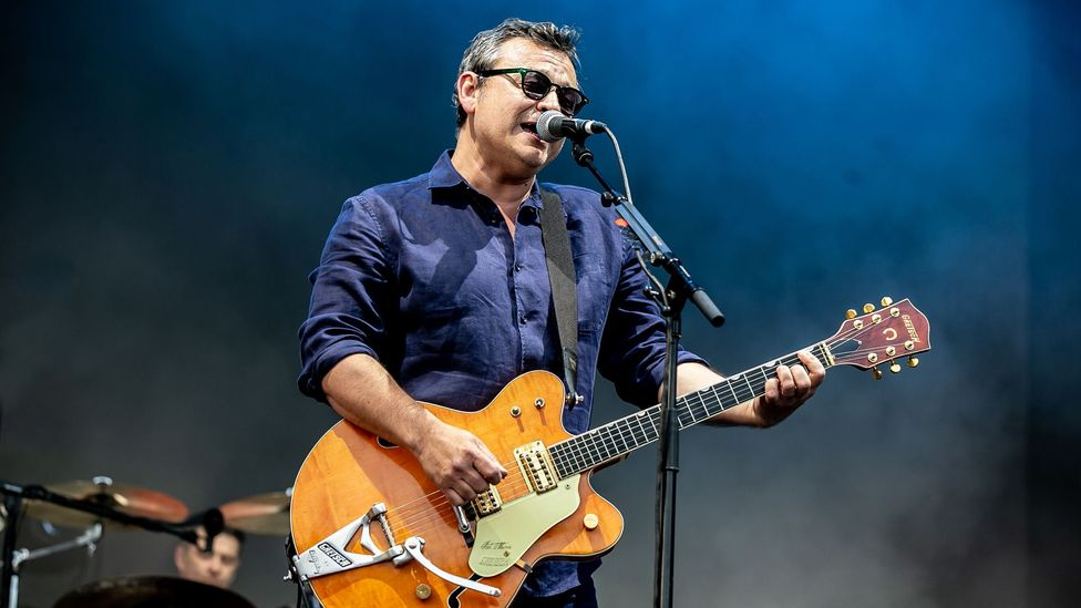 James Dean Bradfield of the Manic Street Preachers has recorded an album about Jara's life and death, Even in Exile (Credit: Getty Images)