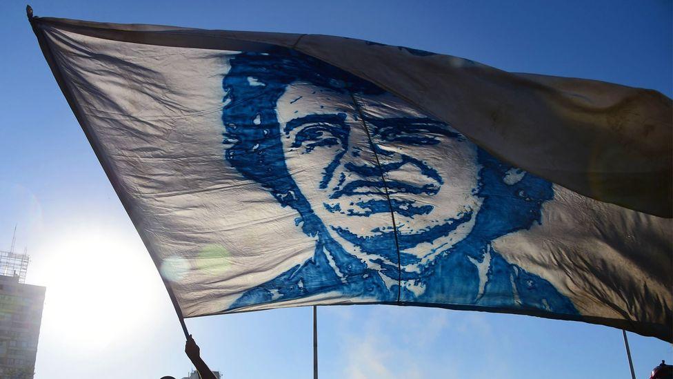 Víctor Jara flag