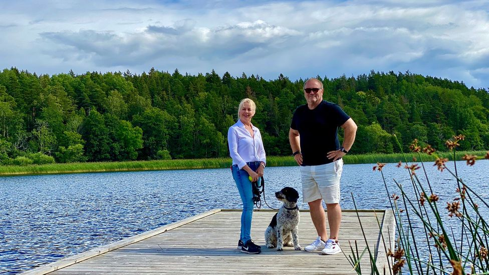 Julian Stubbs, a branding professional from Stockholm, thinks that technology and Sweden's flexible work culture will spur more remote working in rural areas (Credit: Stubbs)