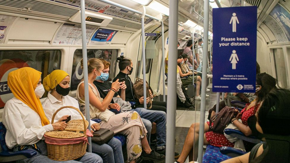 Some readers said they were worried about taking public transport to get to work (Credit: Alamy)