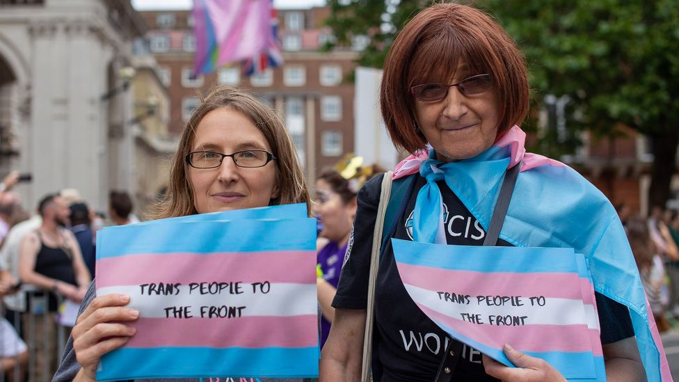 Transgender medicine has largely focused on the 'transitioning' of gender rather than how medical conditions can affect people afterwards (Credit: Jo Holland/BBC)