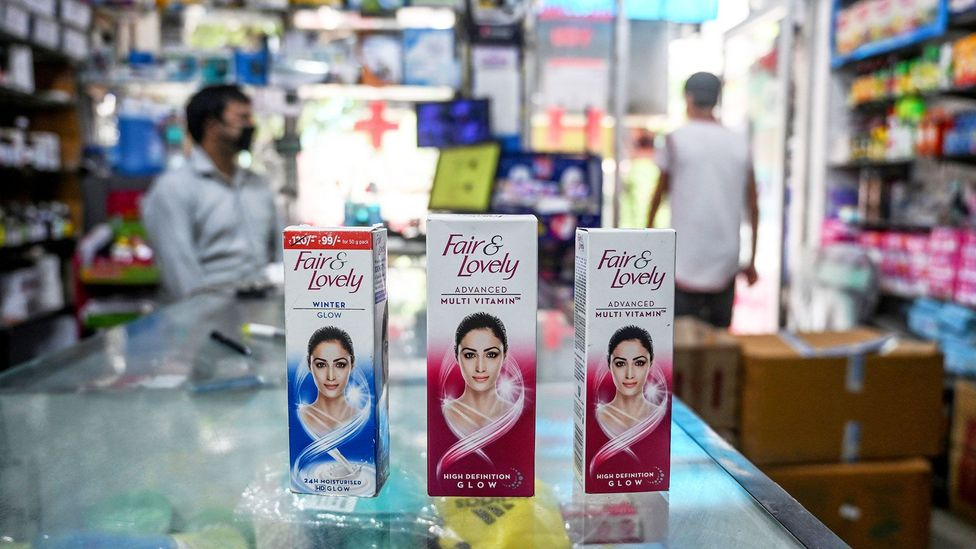 Unilever recently announced that their Fair & Lovely brand would be renamed Glow & Lovely (Credit: Getty Images)