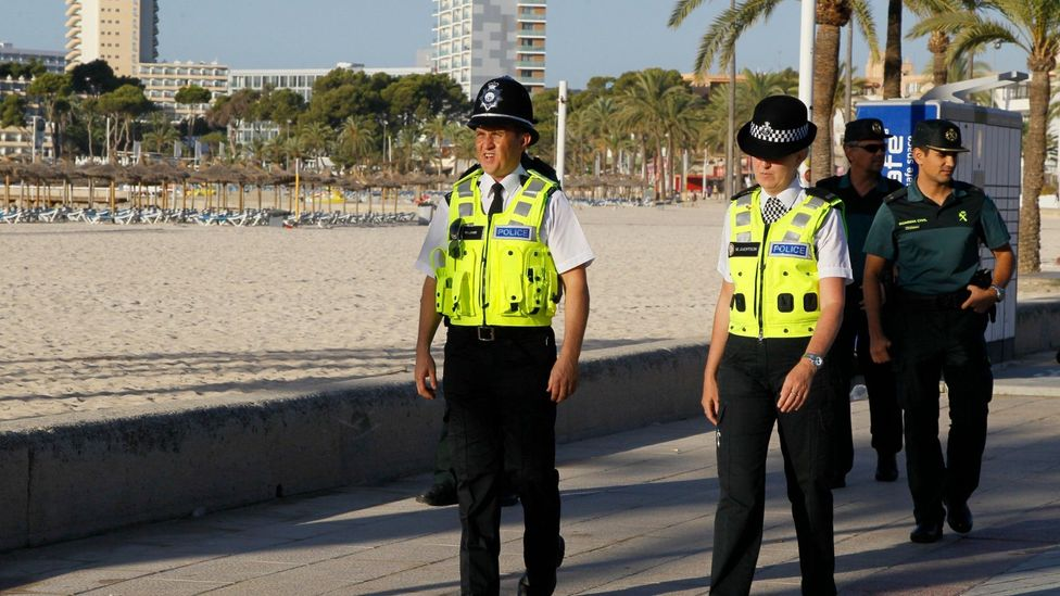 Officials in Magaluf have explored various ways, including drafting in British police, to better manage the young tourists