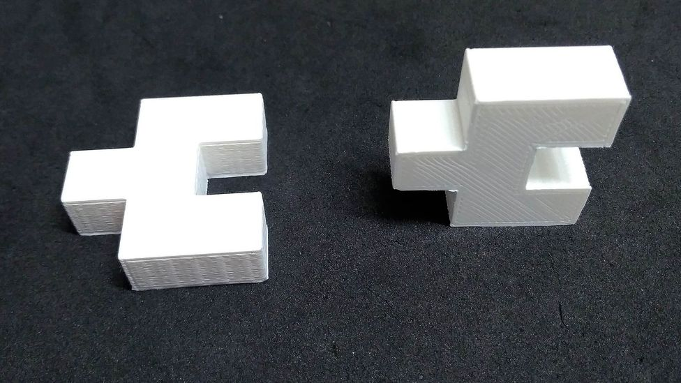 Bricks like these could be the prototype for plastic bricks that are strong and durable enough to be used in construction (Credit: Sibele Cestari)